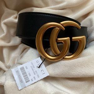 šNew Gucci Belt Âùthéntíć Double G Marmot